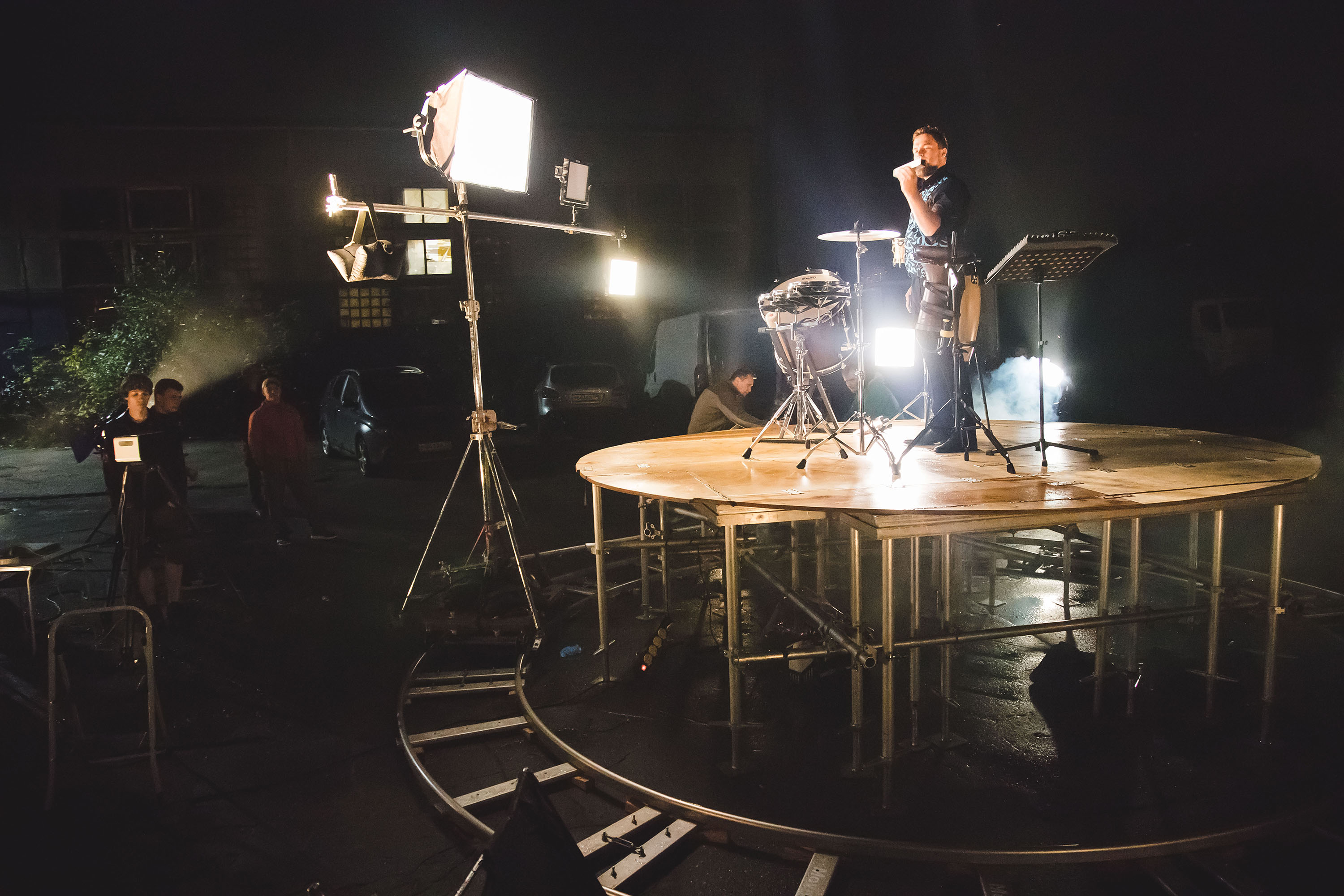 The making of a debut video